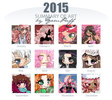 2015 Summary of YamPuff's Art by YamPuff