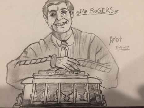 Mr. Fred Rogers by FiremanHippie