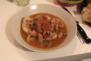 Chicken Chasseur by Robinaa