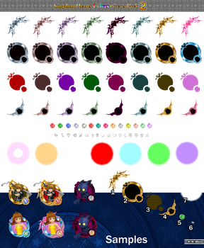kingdom hearts unchained x medal Pack 2 by MASTERQ2