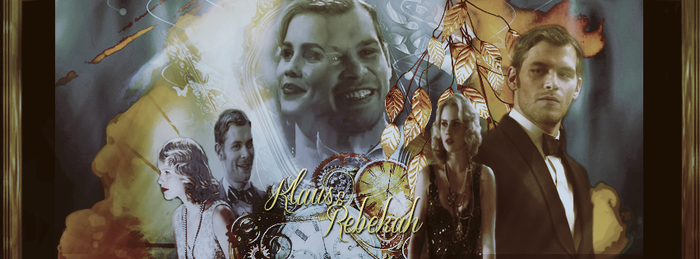 Klaus And Rebekah by MidnightRippah