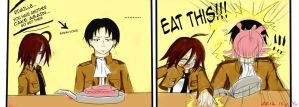 Eat that Corporal!! by rinrukichi