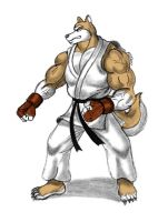 Tsunami in Karate Gi by MDTartist83