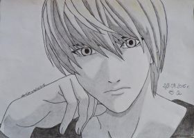 Light Yagami by Merliniara