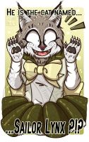 Commission Sailor Lynx Badge by kuroitenshi13