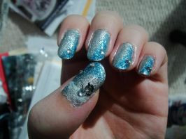 Winter Nails by MelodicInterval