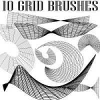 Grid Brushes for Adobe Illustrator by Brushportal