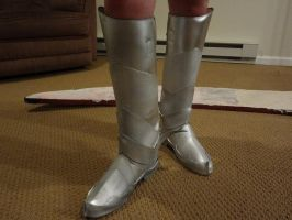 Erza boots all finished by CrazyRevy