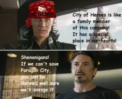 #SaveCoH--Loki and Stark Discuss by Todogut