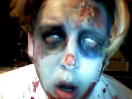 Zombie Make-up 3 by Art-of-the-Seraphim