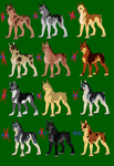 Canine Adopts ((All Gone)) by DragonHeartLuver