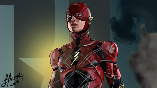 The Flash (Justice League) by Zedg3