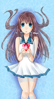 Manaka: empty heart by NatiiLuv