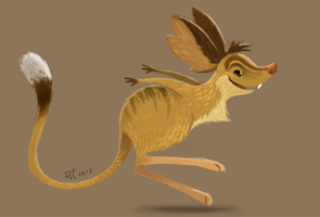 DAY 371. Jerboa by Cryptid-Creations