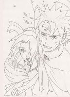 narusaku -   just married by Yuuvia