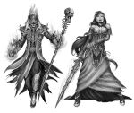 Lich-Vampire Queen commissions by YamaOrce