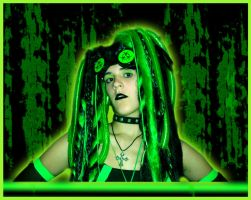 Uranium-Acid Cyber Outfit by German-Blood