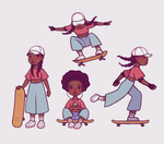 simple character design by Dorinootje