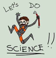 Let's Do Science with Freeman by Mikkynga