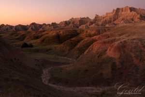 Badlands In Dawn Colors by ThisWomanWanders