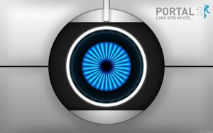 Portal 2 - Look into my eye by dj-corny