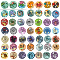Pokemon Charms etc. by LeeLeeMoreau