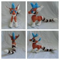 Atticus plush trade by Toshiko-paws