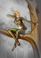 ELF 001 by Shafiqur