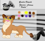Viola Reference Sheet 2014 by Fawnadeer