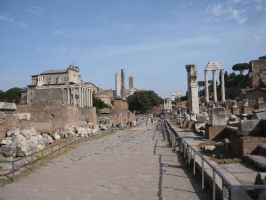 Forum Romanum STOCK by Chiron178