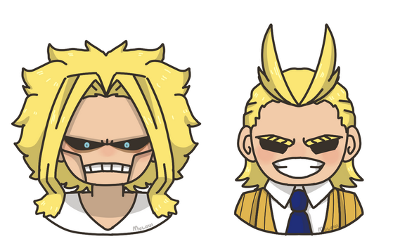 all might cheeb by muloui