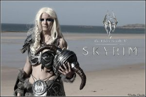 Skyrim cosplay by Ewenae