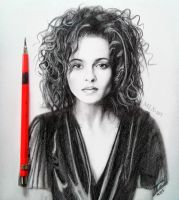 Helena Bonham-Carter by MLS-art