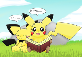 Story Time by pichu90