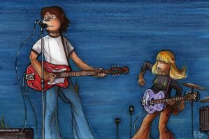 Guitar Rock by Phraggle