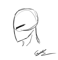 Rake Rage Face Sketch Animation by GingaAkam