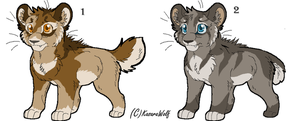 Saber Kits Point Adoptables Set 1 GONE by Kasara-Designs