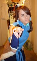 Korra cosplay 2 by D8UnicornZombie8D
