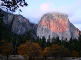 Sunset on El Capitan by Geotripper