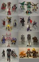 Tamers D-Real Figures by neoarchangemon