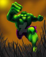 The Incredible Hulk by felluponthieves
