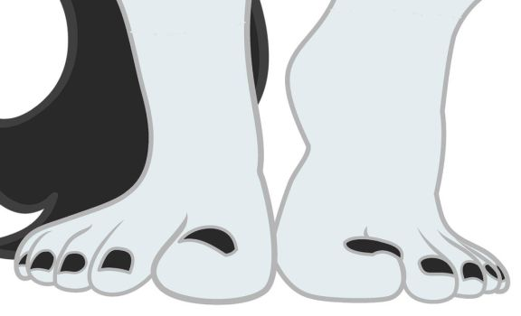 Shift Up Feet (Polished)  by TroyJr24