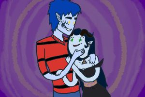 Crack Couple 1 by Ask-Thorn-Morph