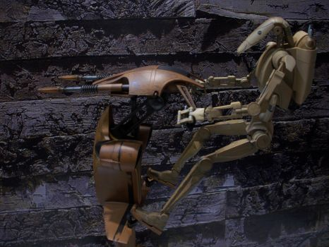 Sideshow Infantry Battle Droids And STAP 1/6 F. 1 by Minas-Tirith-Hakan