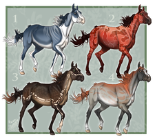 Variety Trotters Two  [2/4 Open] by ResidualAdopts