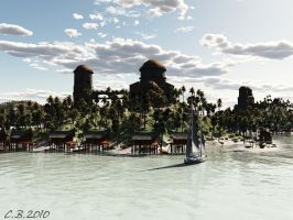 Beach Resort by ChristianBeyer