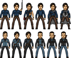Ash Williams by MicroManED