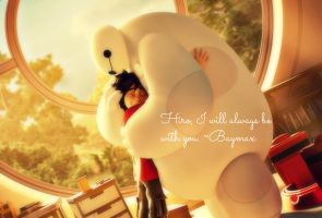 Hiro, I will always be with you. -Baymax by Angelgirl10