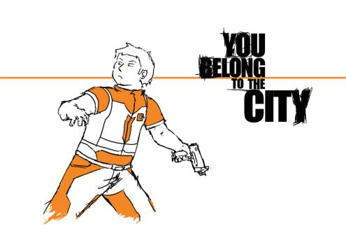 You belong to the city by Tisseur-de-reves