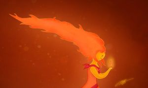Flame Princess by amsuherdi1111
